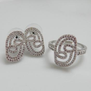 Fashion Jewellery Ring & Earrings Set