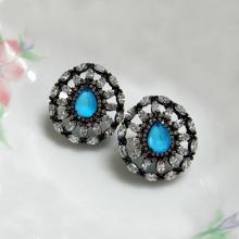 Fashion Jewelry Brilliant Stud Earrings