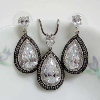 Teardrop Fashion Jewelry Set