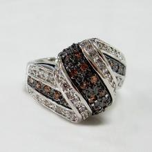 Two Tone Fashion Jewelry Ring