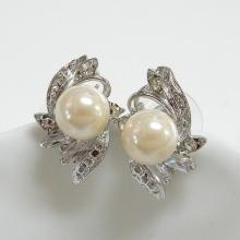 Fashion Jewelry Pearl Earrings