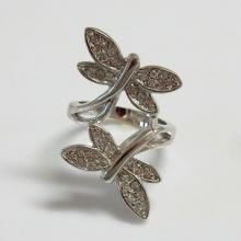 Dancing Butterfly Ring